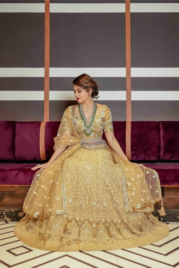 Niyoosh-beige-heavy-embroidered-lehenga-front